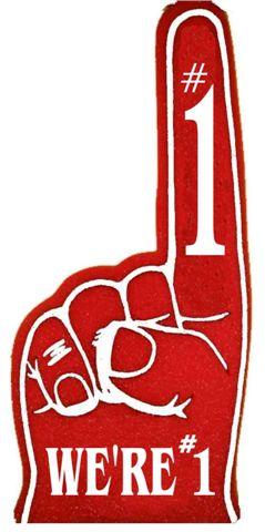1 foam finger